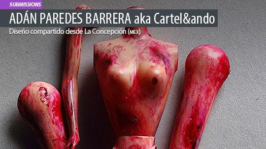 Diseño. Feminicidio de ADÁN PAREDES BARRERA
