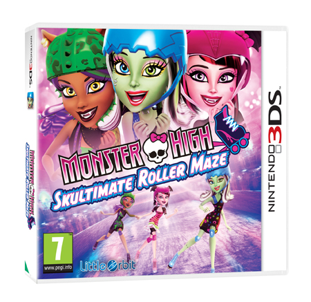 Las Monster High llegan patinando a Nintendo 3DS