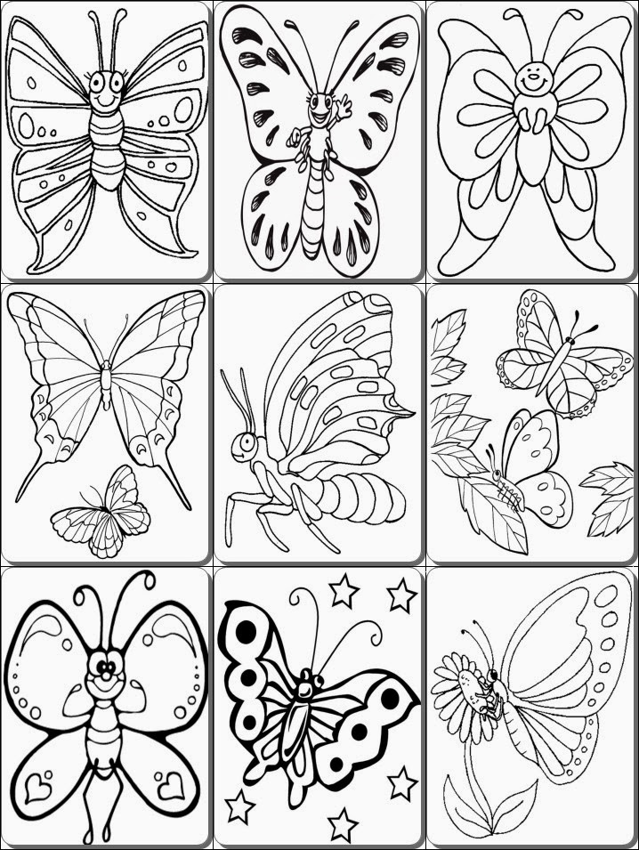 Butterfly Coloring Pages Pdf ~ pdf coloring pages