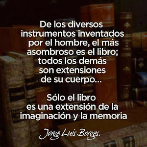EL LIBRO SEGÚN JORGE LUIS BORGES
