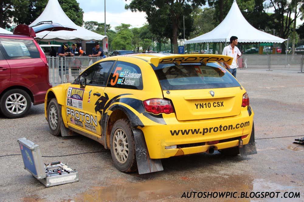 Satria Neo S2000 Malaysian Rally 2012
