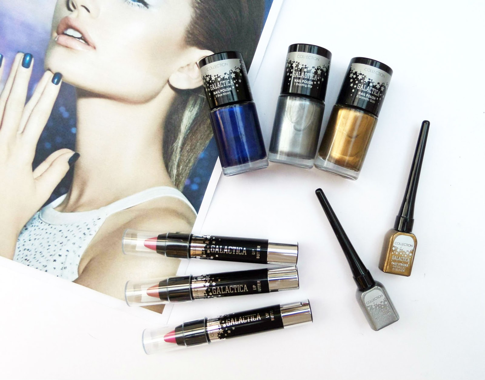 The Collection Cosmetics Galactica Range Review
