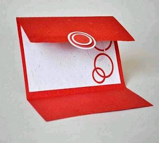Tarjetas de Boda Blanco y Rojo, parte 1