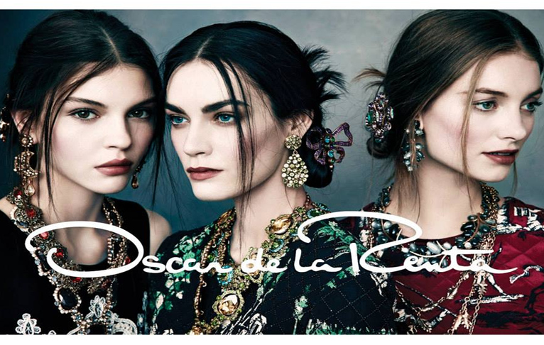 Oscar de la Renta Fall 2013/2014 Campaign Jewelry