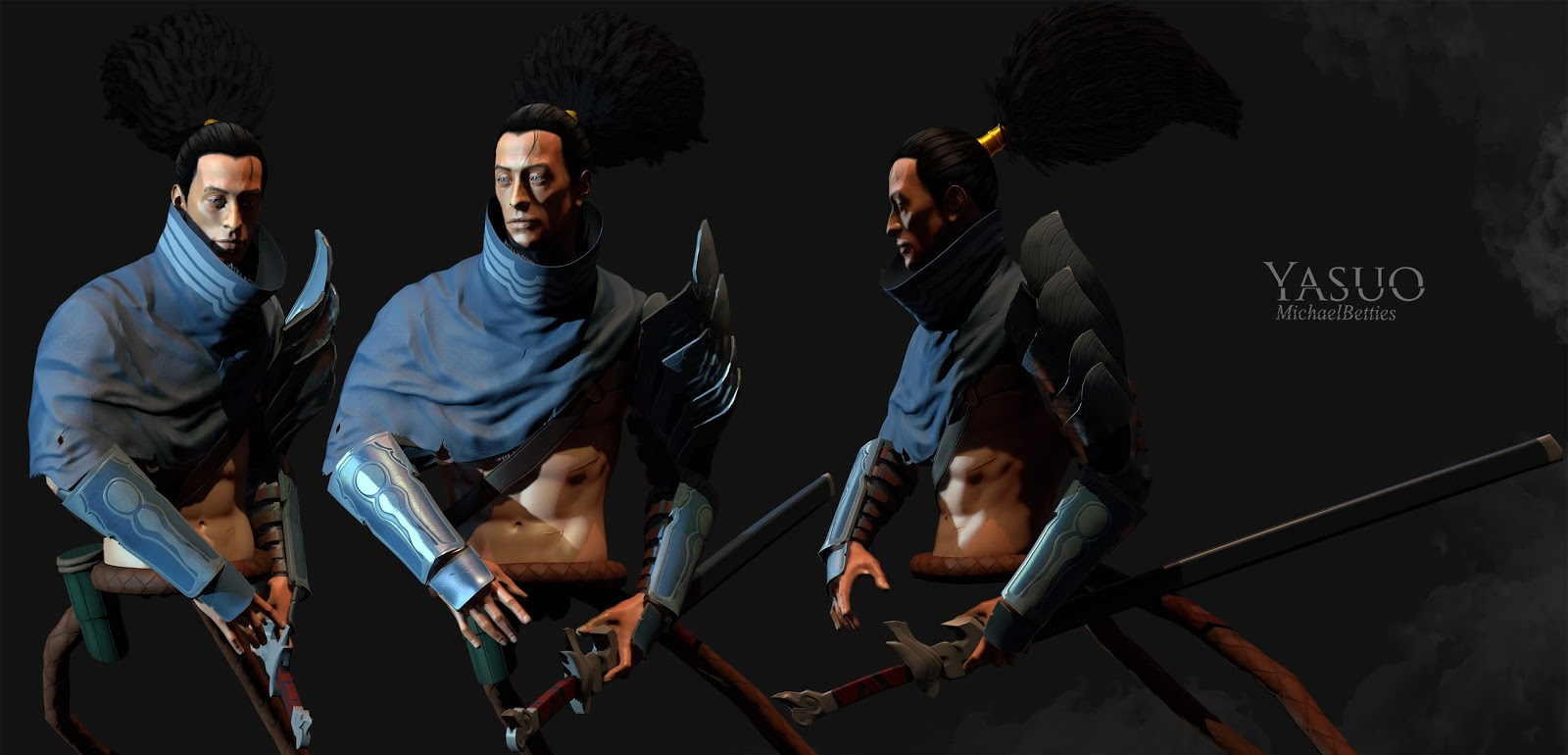 League Of Legends Yasuo Fan Art