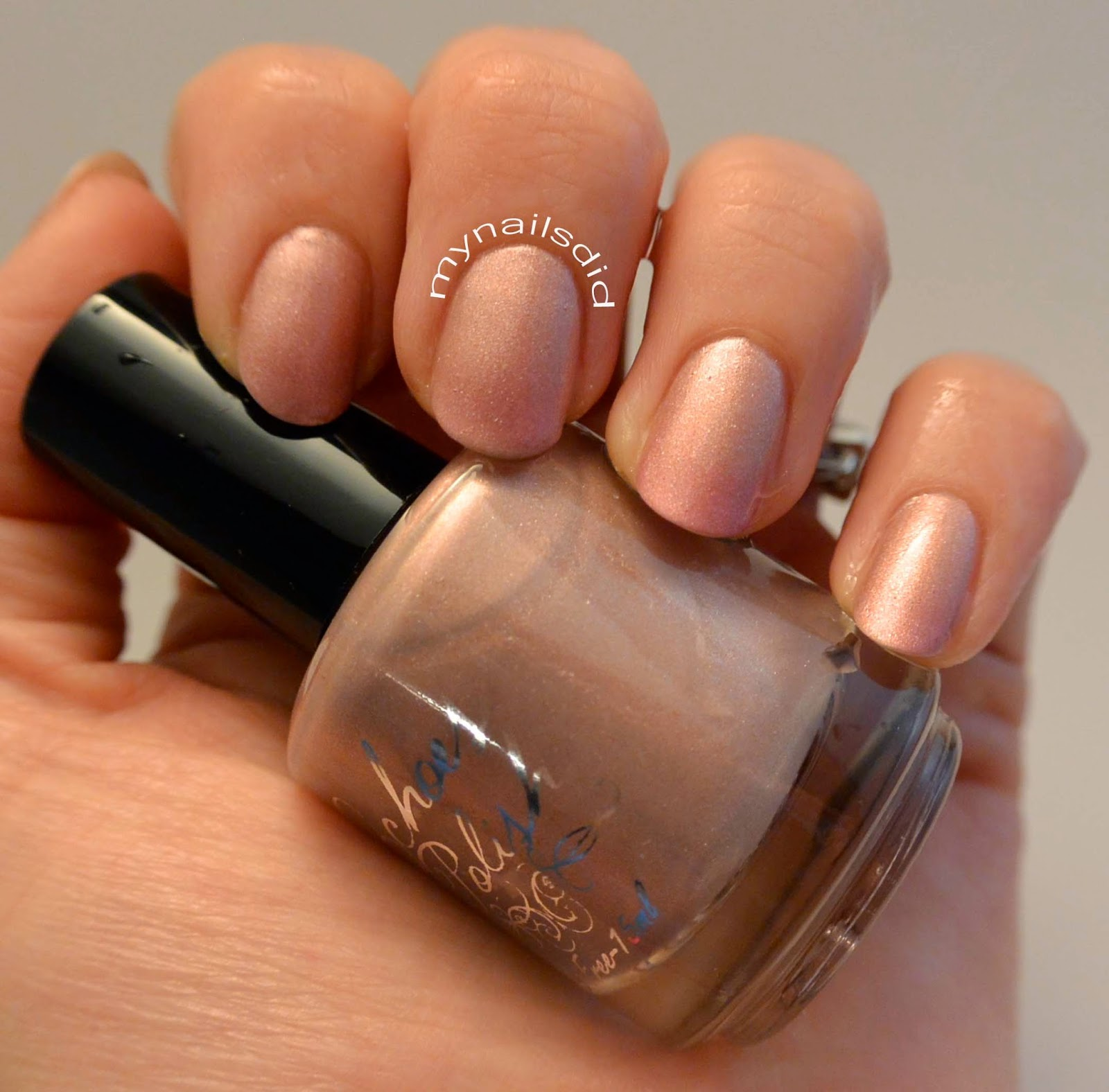 My Nails Did: Echoes Polish Fracken Swatch