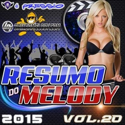 CD RESUMO DO MELODY VOL 20 2015
