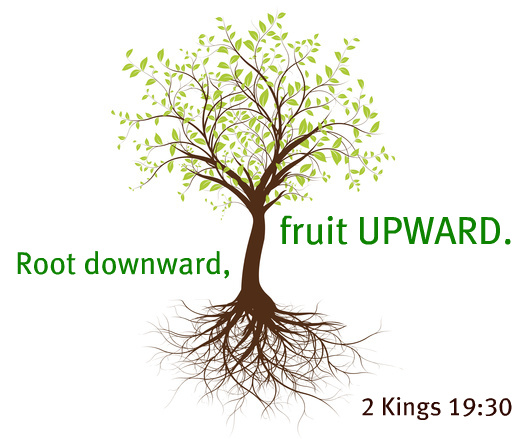 Root Downward, Fruit Upward