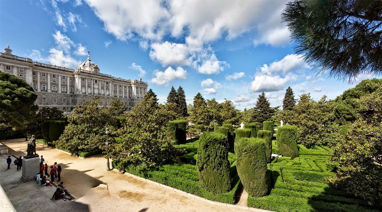 Manuelblas madrid jardines de sabatini for Jardines sabatini