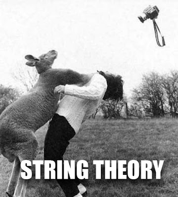String Theory: Yeaaap, that's about what it's like to try and understand it!