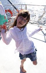 Alva, 8 år.