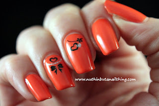 2true orange nail polish shade 27