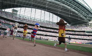 Miller Park - Sausage Race