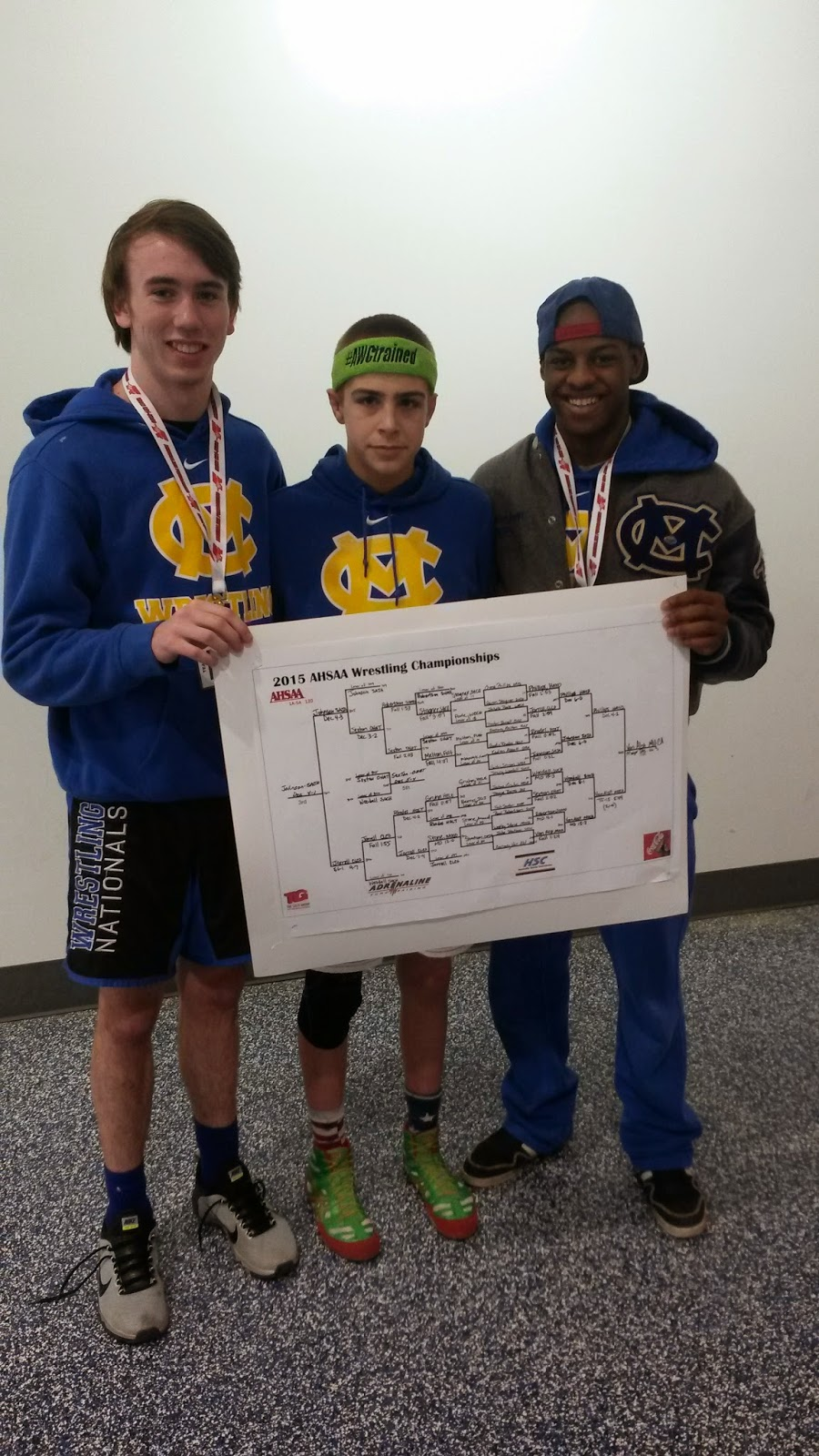 Catholic's Van Alst Claims Fourth Consecutive Wrestling State Championship 4