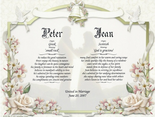 Wedding collection nowadays aug 18 2011 wedding vows wedding vows examples junglespirit Gallery
