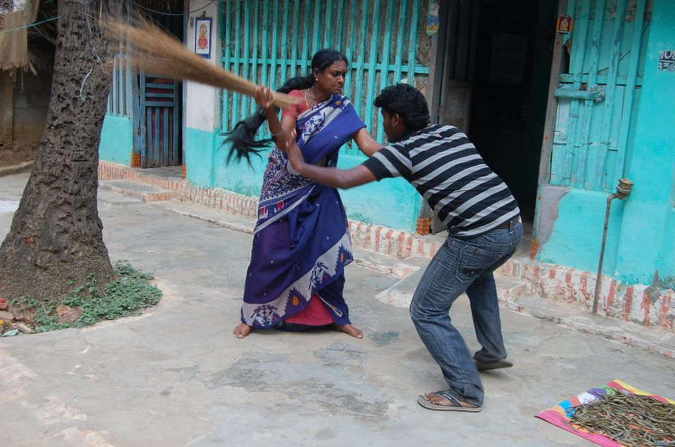 chatting indian woman beats