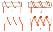 Resistor Kawat komponen elektronika