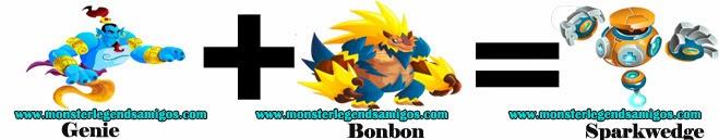 como obtener el monster sparkwedge en monster legends formula 1