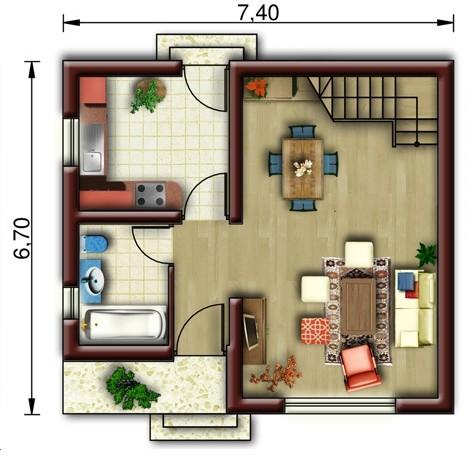 home design interior singapore: rancangan rumah minimalis