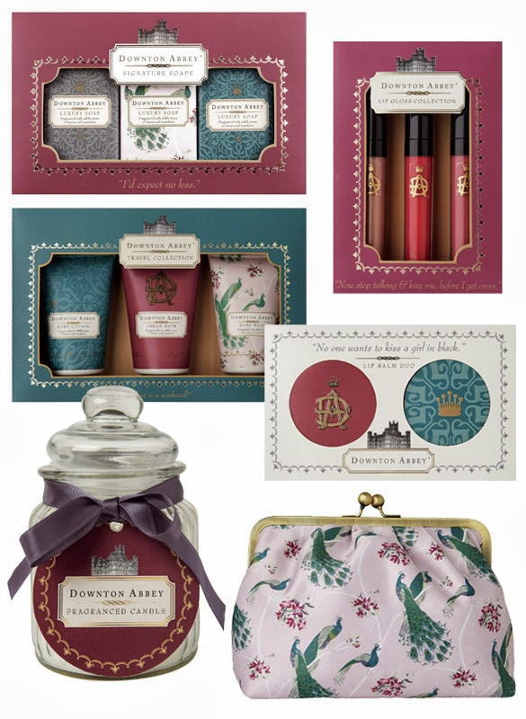 Downton Abbey-Beauty-Kollektion