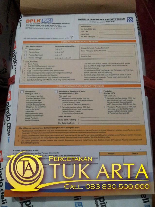 cetak formulir surabaya