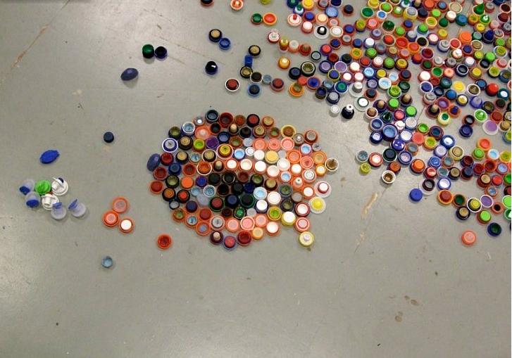 Recup Art les arts à la pro': récup'art avec mary ellen croteau.