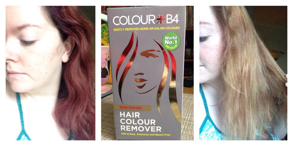 Happy thoughts & forget me nots: How I dyed my hair | Tulip Ombre