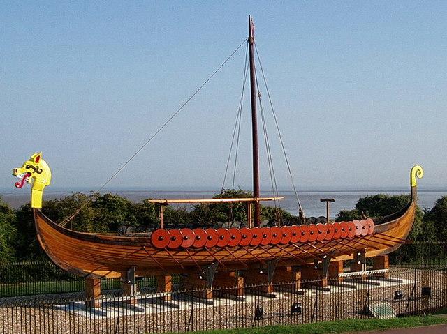 Gambar Kapal Layar Longship Viking lagi dipamerkan