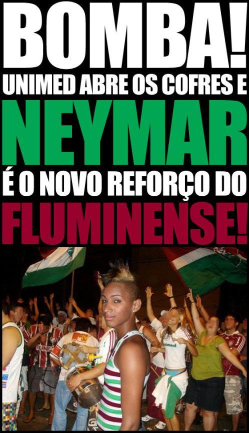 Neymar no Fluminense