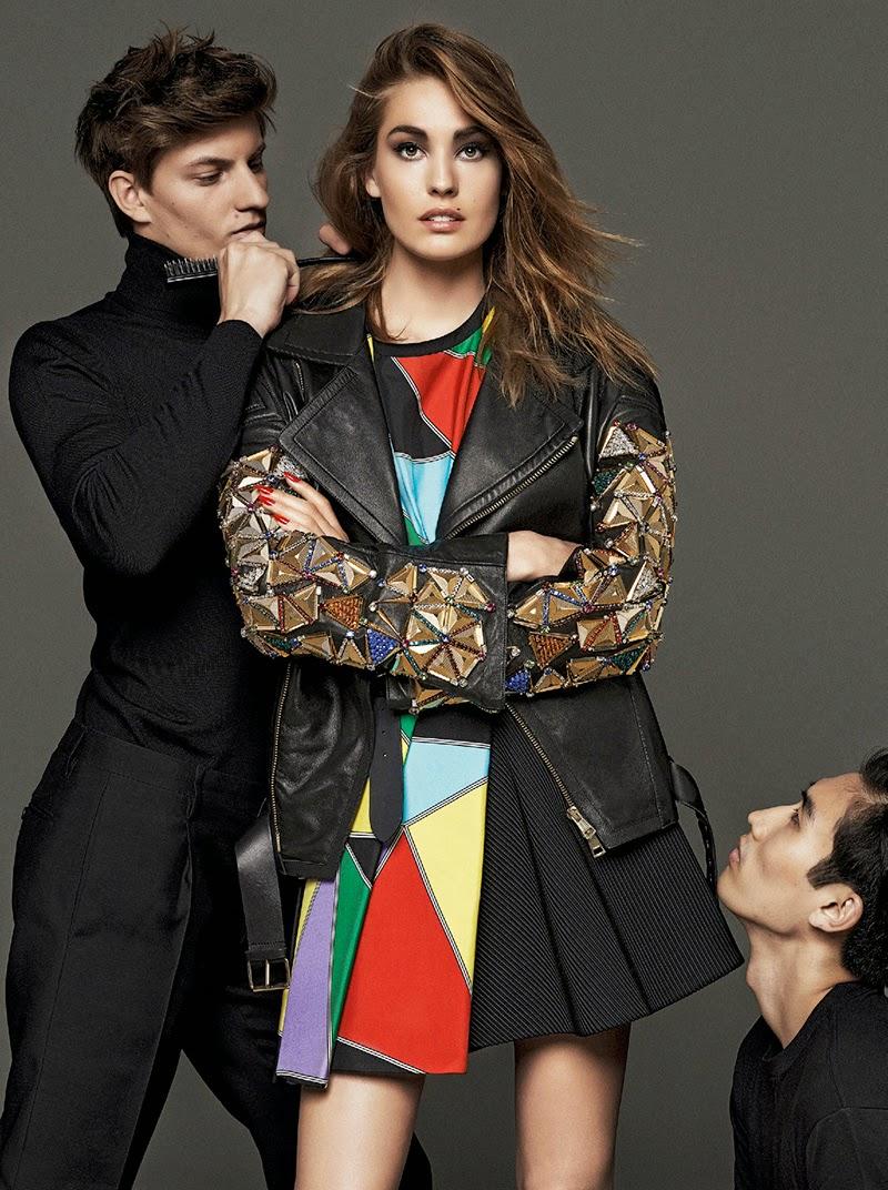 Nadja Bender for Vogue Spain September 2014