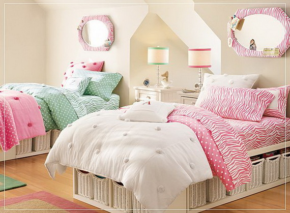 Pink Bedrooms For Teenagers