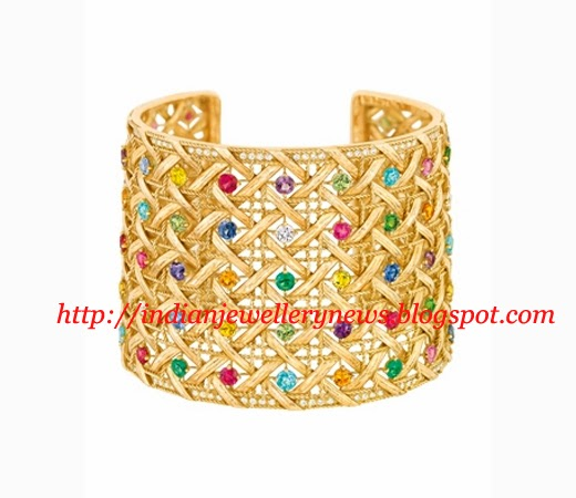 22k Gold cuff By Tanishq