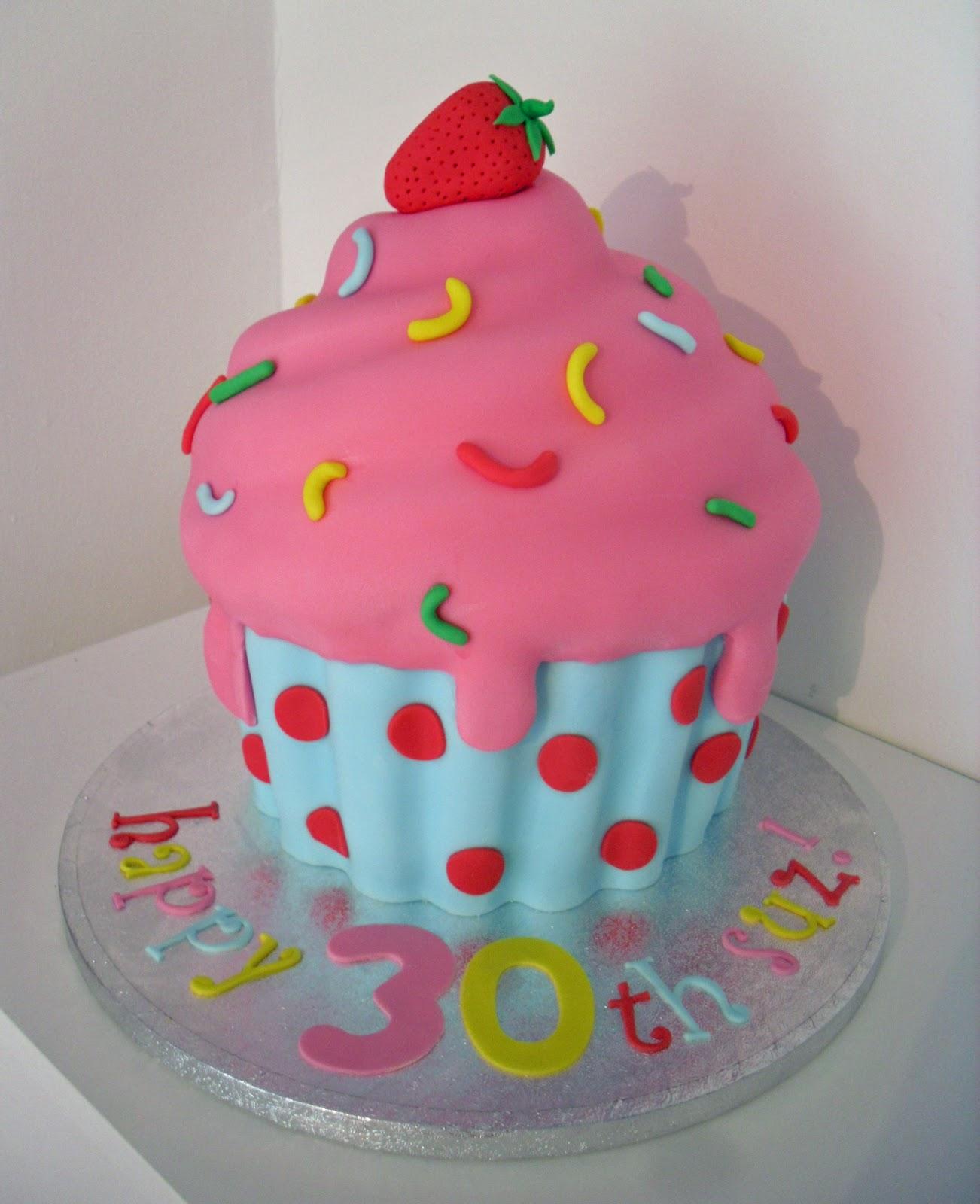 Huge Cupcake Cake