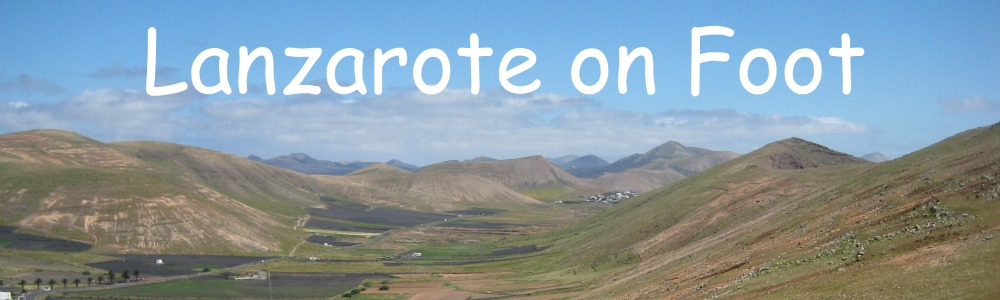 Lanzarote on  Foot