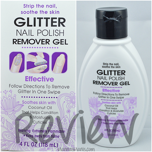 Vi-Jon Glitter Nail Polish Gel Remover review