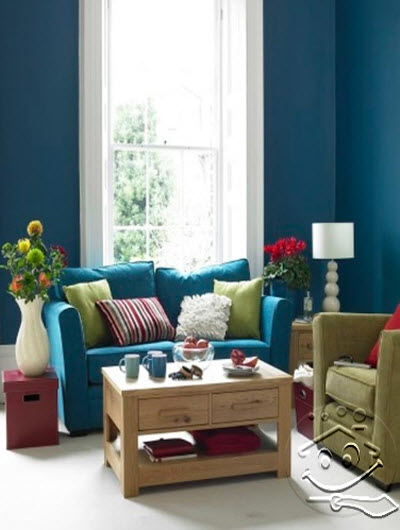 Summer decorating ideas for living room home idea 39 s for Simple green living room designs