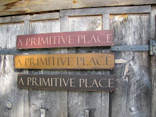 Order A PRIMITIVE PLACE SIGN