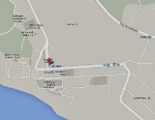 Mapa para llegar al Playmobil Fun Park de Malta