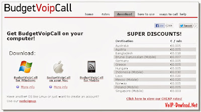 Download BudgetVoipCall
