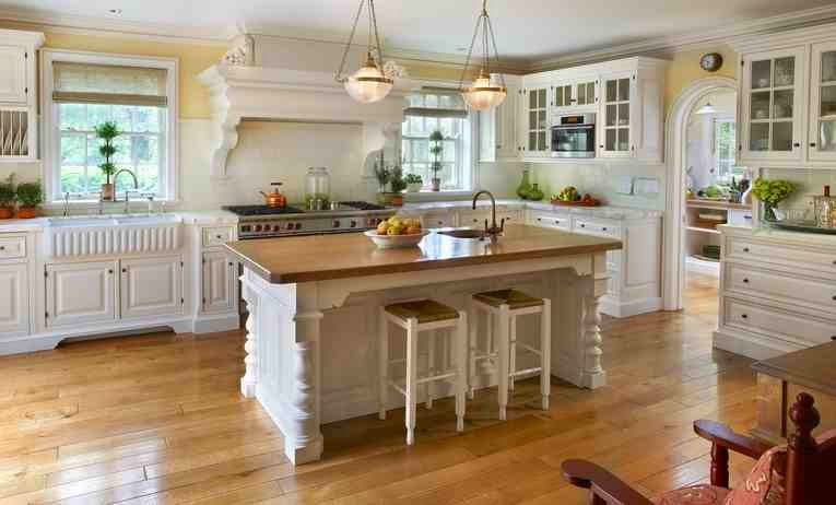 28 american country kitchen designs video early for American style kitchen