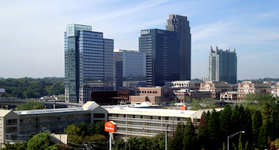 Atlantic Station Skyline