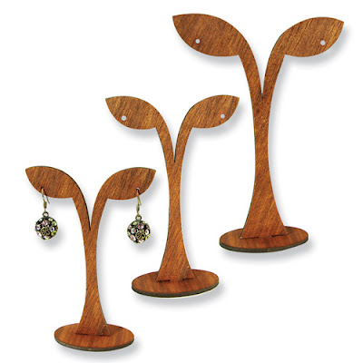 wooden-earring-display