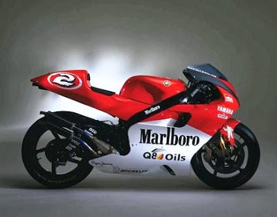 Yamaha Racing Marlboro Team Motor Azik