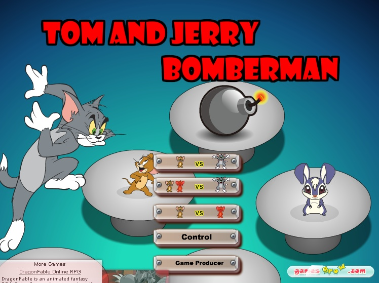 tom and jerry free games tom and jerry bomberman