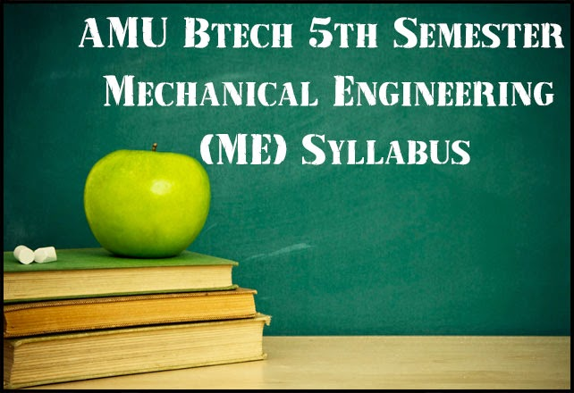 amu-btech-me-5th-sem-syllabus