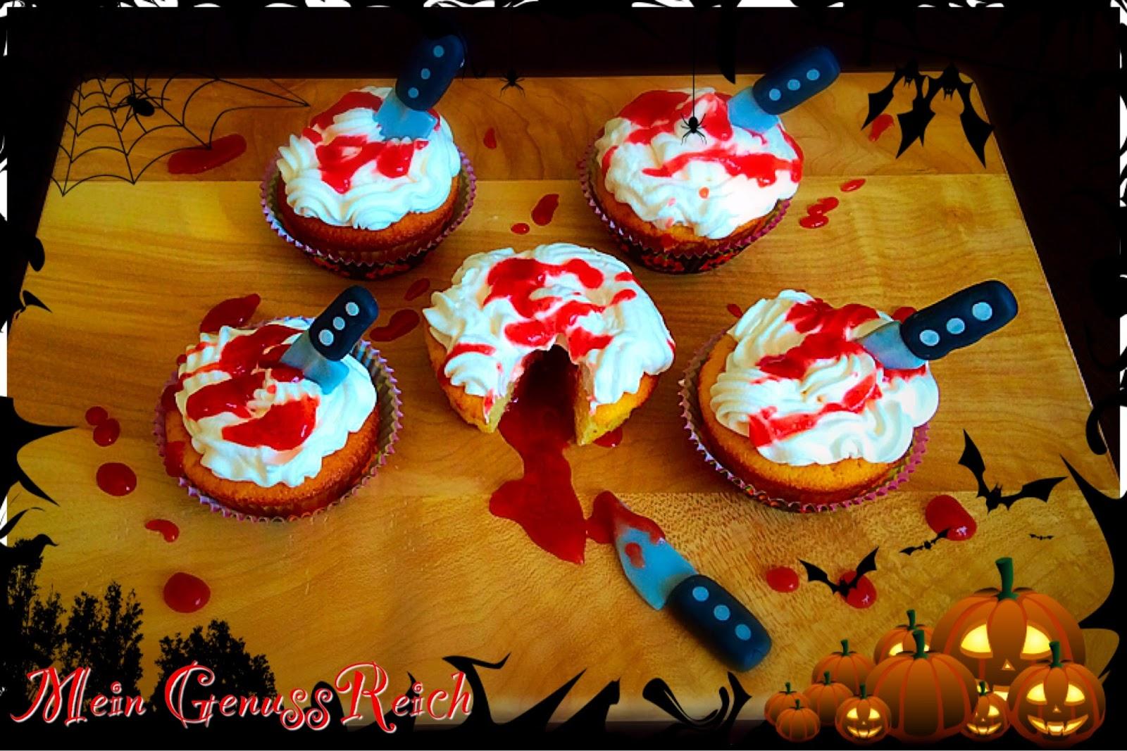 halloween muffins f r kinder rezepte suchen. Black Bedroom Furniture Sets. Home Design Ideas