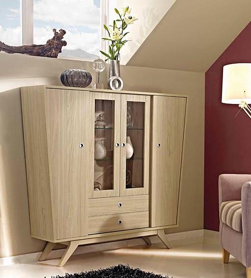 Muebles de comedor por la decoradora experta for Mueble para cristaleria