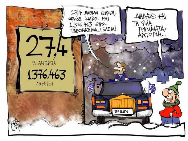Το 60% των Ελλήνων χωρίς δουλειά!