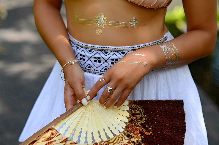 Myca Couture Wrap arrow bracelet, Bali Silver, Hunkemoller, Sylvie collection, Flash tattoo, Bali, Indonesia