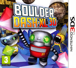 Downnload Boulder Dash-XL 3D 3DS Rom